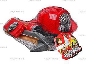 Набор пожарника с каской, 9918B, цена