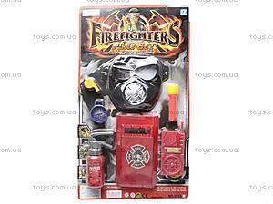 Набор пожарника с маской, 9955