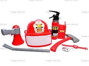 Набор пожарника с огнетушителем, 5033A