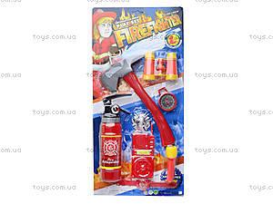 Игровой набор пожарника, 8022-3, отзывы