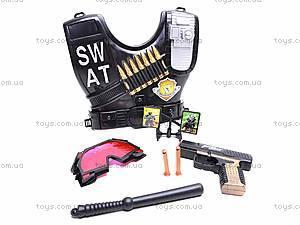 Набор полицейского с бронежилетом, 2012M-04
