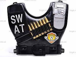 Набор полицейского с бронежилетом, 2012M-04, игрушки