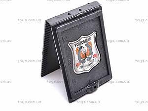 Набор полицейского с пистолетом, 2012M-02, цена