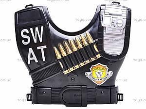 Набор полицейского с пистолетом, 2012M-02, игрушки