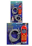 Набор Полицейский на блистере, 8860, игрушки