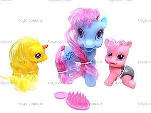 Набор пони с аксессуарами в сумке, 6617A-5, toys.com.ua