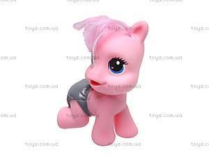 Набор пони с аксессуарами, в сумке, 6618A-4, магазин игрушек