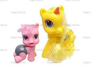 Набор пони с аксессуарами, в сумке, 6618A-4, toys.com.ua