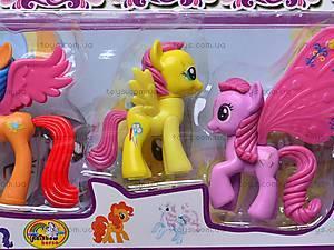 Набор пони с крыльями, 0235, фото