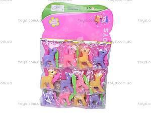 Набор пони с расческами, 05-25, фото