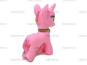 Розовый пони на планшете, 8812-10, фото