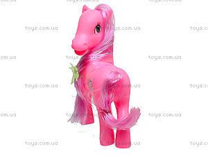 Игрушечная лошадка виниловая, 022, фото