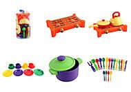 Набор посудки, детской, 34 предмета, Юника, отзывы