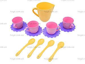 Детский набор посуды в ведерке, 22010, цена