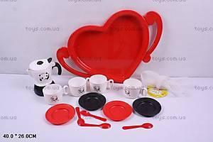 Набор посуды детский, в сетке, C0033