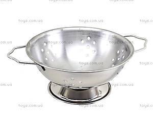 Игровой металлический набор посуды, 891101A, цена