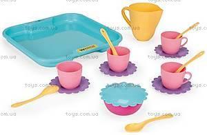 Набор посуды на подносе , 22030