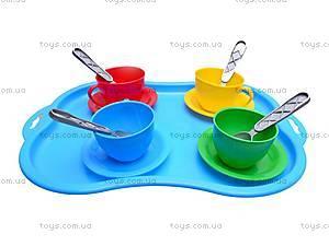 Набор посуды на подносе «Чаепитие», 1301, отзывы