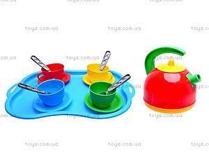 Набор посуды на подносе «Чаепитие», 1301