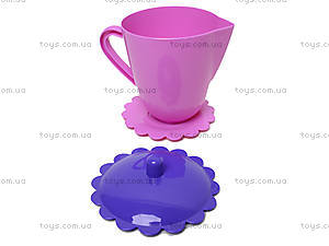 Набор посуды «Ромашка» с чайником, 39087, фото