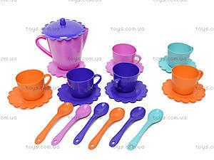 Набор посуды «Ромашка» с чайником, 39087, игрушки