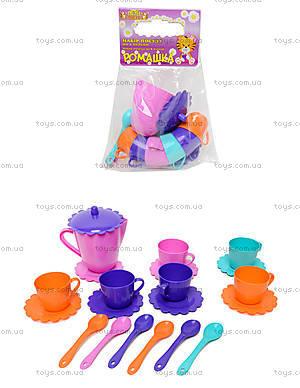 Набор посуды «Ромашка» с чайником, 39087