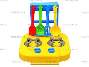 Набор посуды «Ромашка» с плитой, 39153, фото