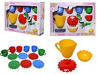 Игровой набор посуды «Ромашка» в коробке, 39132