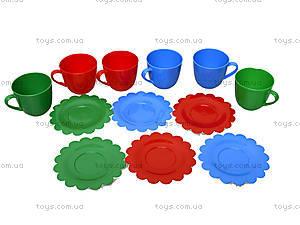 Игровой набор посуды «Ромашка» в коробке, 39132, цена