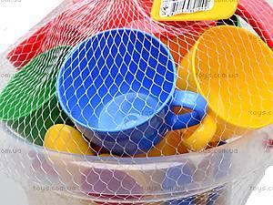 Набор посуды «Ромашка» в ведре, 39120, игрушки