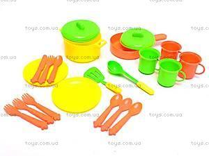 Набор посуды с блюдцами, 314