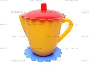 Набор посуды с чайником «Ромашка», 39085, игрушки