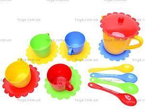 Набор посуды с чайником «Ромашка», 39085, детские игрушки