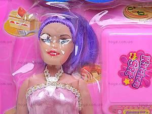 Набор посуды, с куклой, 8602-1, купить