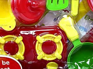 Набор посуды с плитой, LN539D, фото