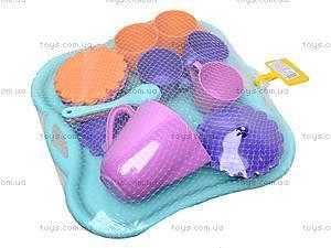 Набор посуды с подносом «Ромашка», 39093
