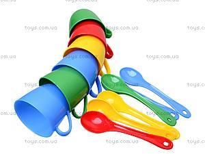 Набор посуды с сахарницей «Люкс», 39090, игрушки