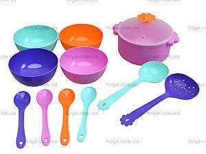 Столовый набор посудки «Ромашка», 39143, игрушки