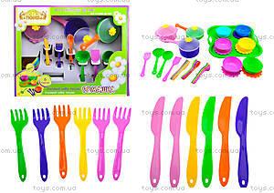 Детский набор посуды «Ромашка», 39149
