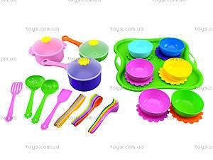 Детский набор посуды «Ромашка», 39149, магазин игрушек