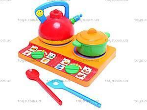 Набор посуды «Юная господарочка», 0486, детские игрушки