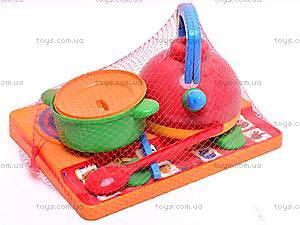 Набор посуды «Юная господарочка», 0486, магазин игрушек