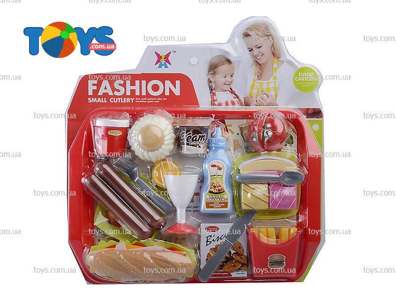 001ecee104980 Набор продуктов игрушечный «Фаст-фуд» - Посуда, продукты питания и ...