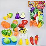 Набор продуктов на липучках «Хороший повар» 14 штук, 1020