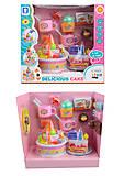Детский набор продуктов, в комплекте: торт и аксессуары, со световыми и звуковыми эффектами, LKE16A5, отзывы