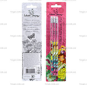 Набор простых карандашей, HB, WXBB-US1-102-BL3