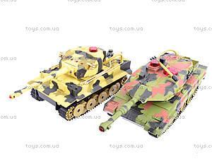 Набор радиоуправляемых танков, RD360RUS, детские игрушки