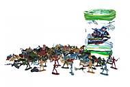 """Набор разноцветных солдатиков """"Армия"""", 2004-39, тойс"""