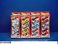 Набор разного игрушечного транспорта, 291927B