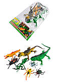 Игровой набор рептилий, F833